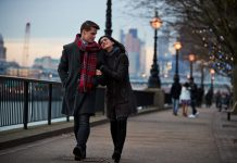 Couple at South Bank London