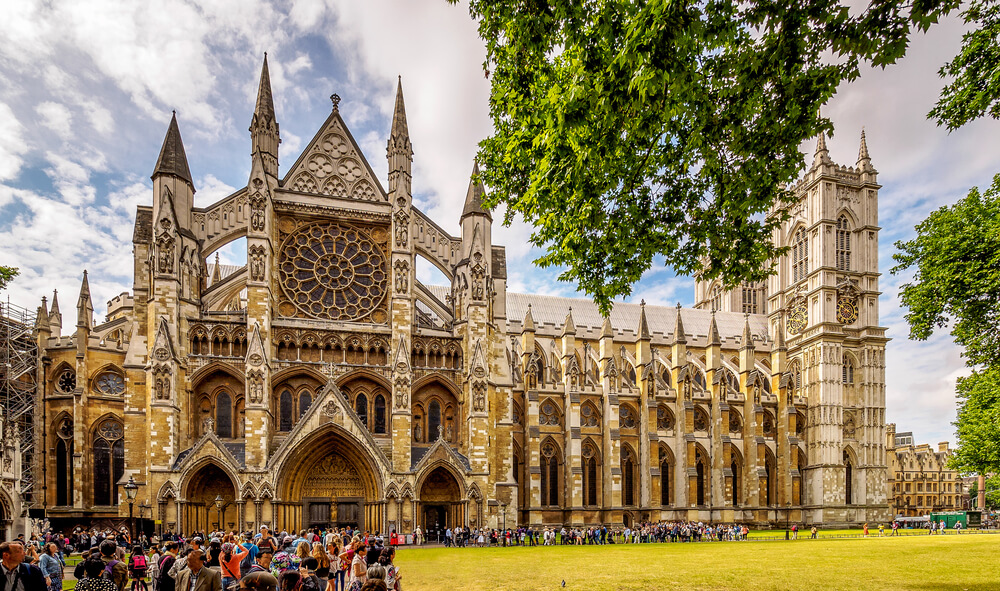 Multi-shop panorama of Westminster Abbey