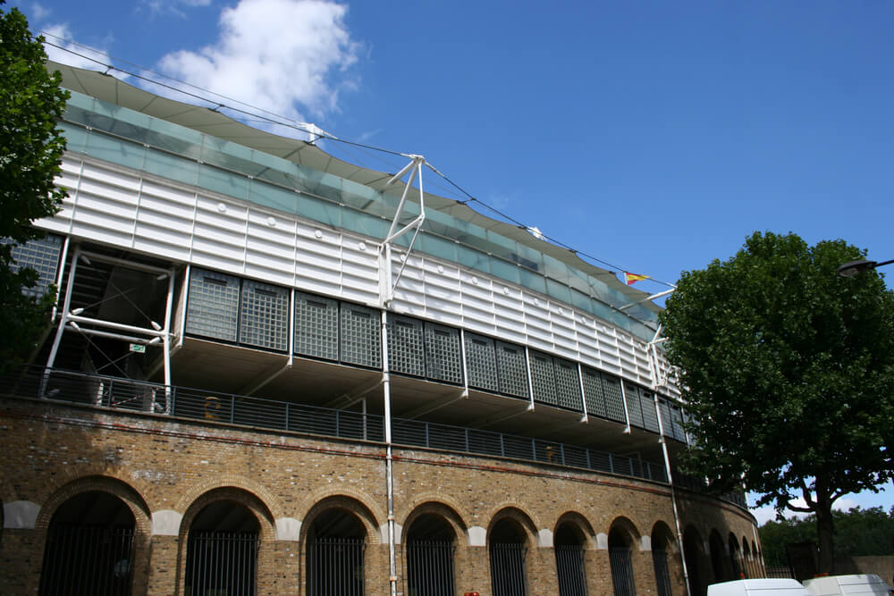 exterior view of Lords Cricket ground London England
